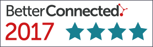 Better Connected 4 star logo for 2017