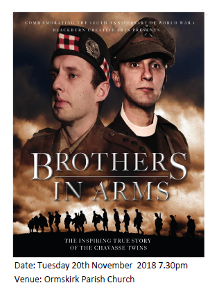 Advert poster for Brother in Arms